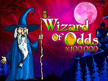 Призовите удачу в автомате Wizard Of Odds на сайте казино Вулкан 24